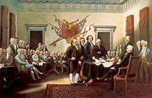 签署《独立宣言》