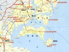 湛江市主要岛屿(部分)